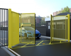 Bi-Folding Speed Gates