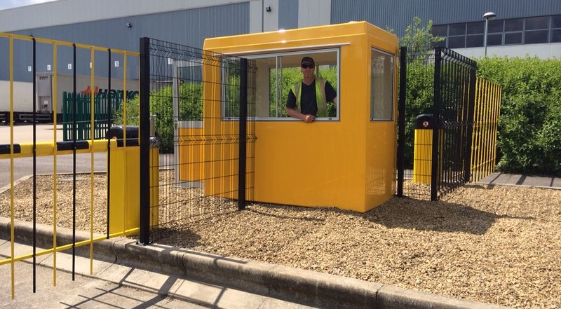 Security Hut Installation